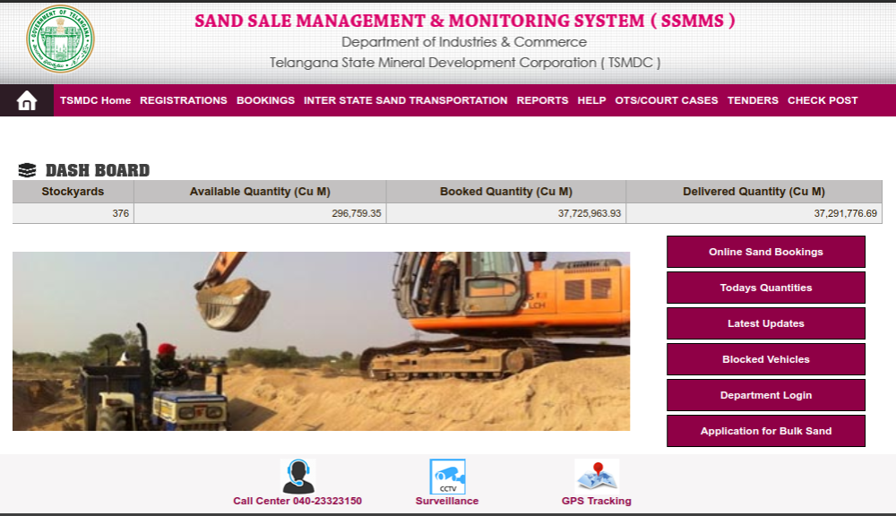 Telangana SSMMS Website
