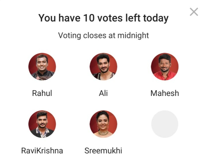 Bigg Boss 3 Telugu Vote: Rahul and Mahesh are in danger in