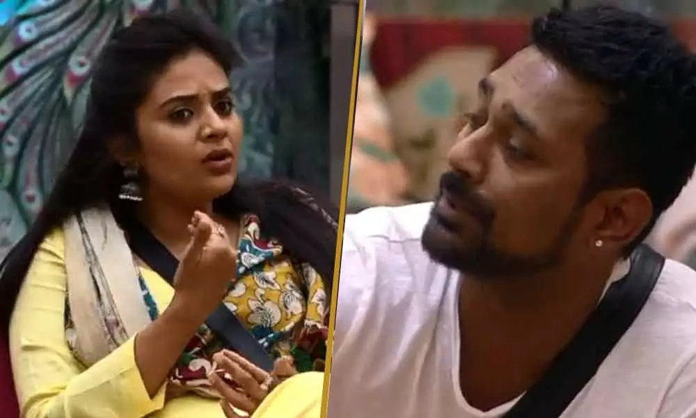 Sreemukhi Varun In Danger Bigg Boss