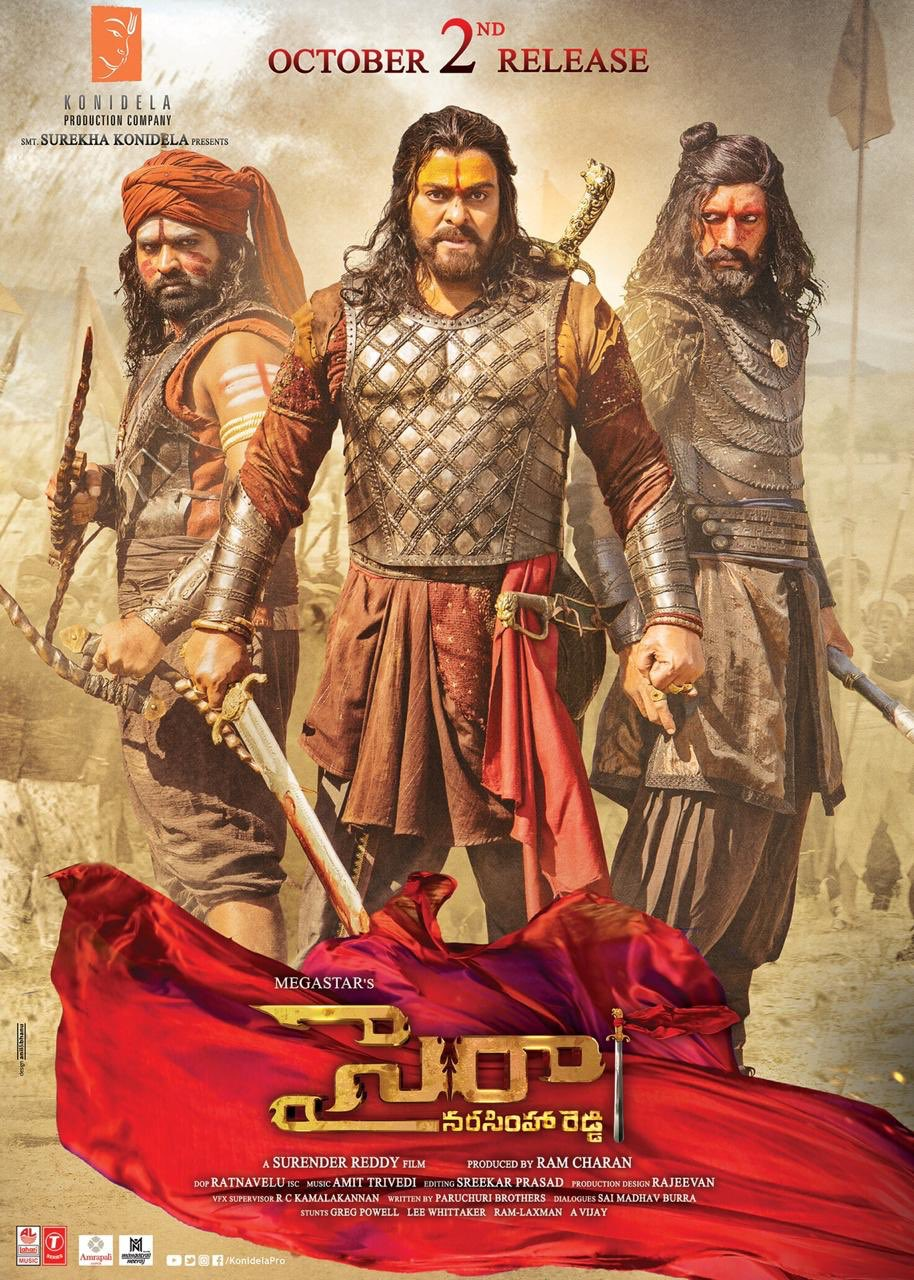Sye Raa Latest Poster