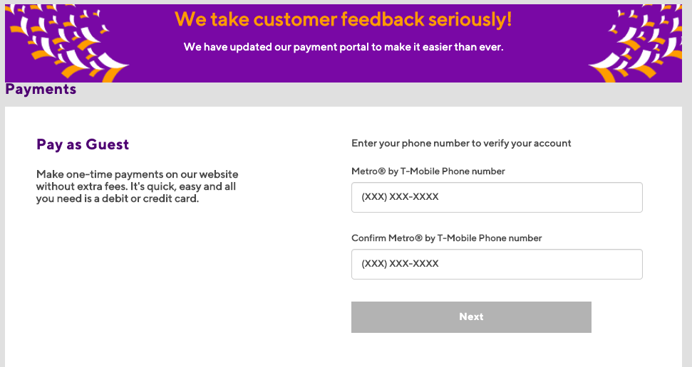 metro pcs pay online