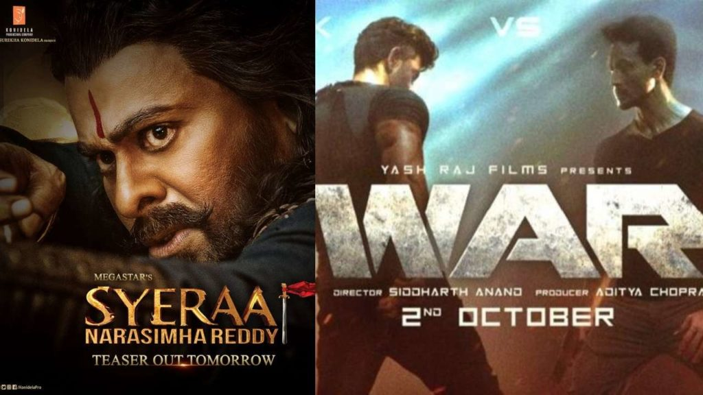 War And Sye Raa Both Movies Leaked Online On Tamilrockers