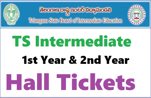 Telangana TS Inter 1st and 2nd Year Hall Tickets / Admit Card 2020 Download at tsbie.cgg.gov.in