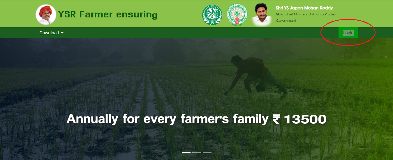 YSR Rythu Bharosa Scheme 2020- Payment Status - 1st, 2nd, And, 3rd Beneficiary List