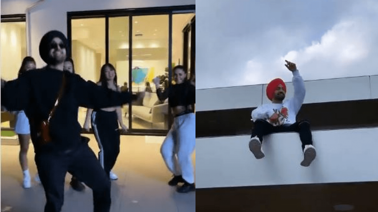 Diljit Dosanjh grooves to Arivu and Dhee's 'Enjoy Enjaami'