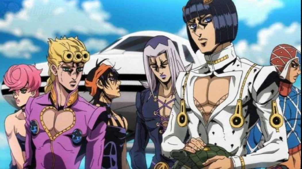 Jojo Bizarre Adventure Part 6