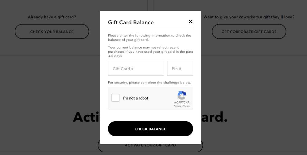 How to Check Your American Eagle Gift Card Balance