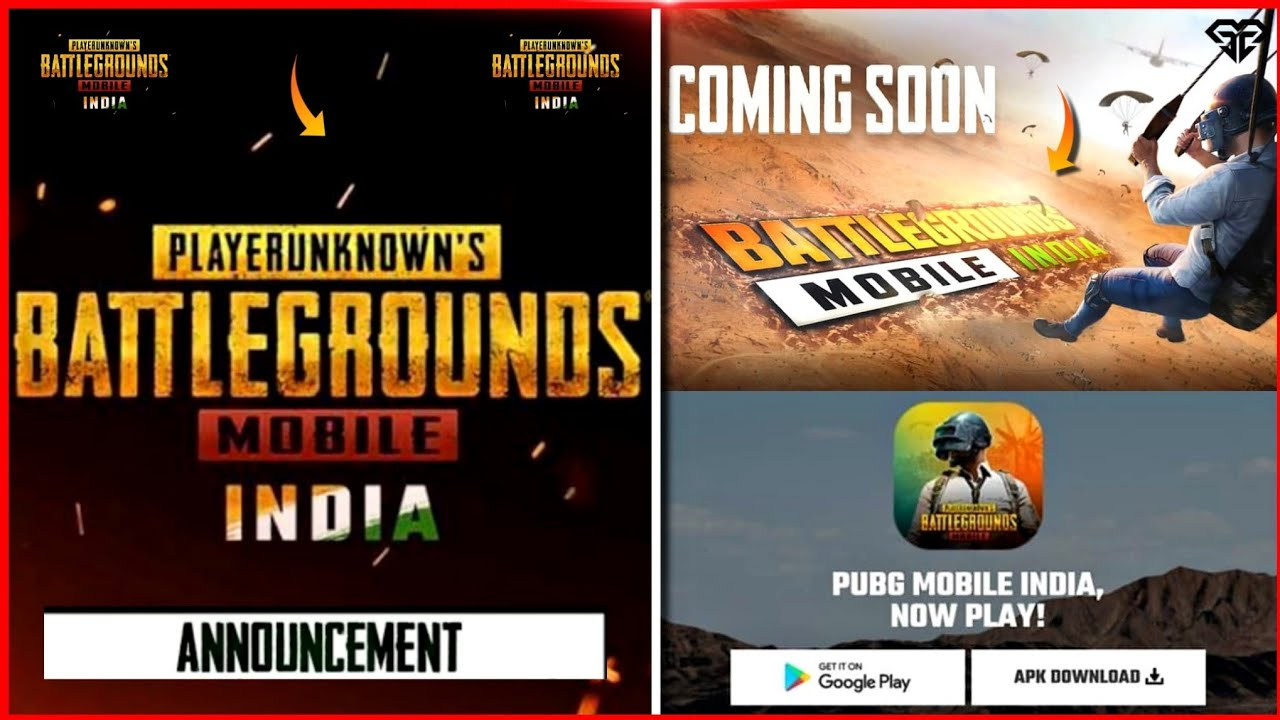 Battlegrounds Mobile India APK Download link on official website after launch