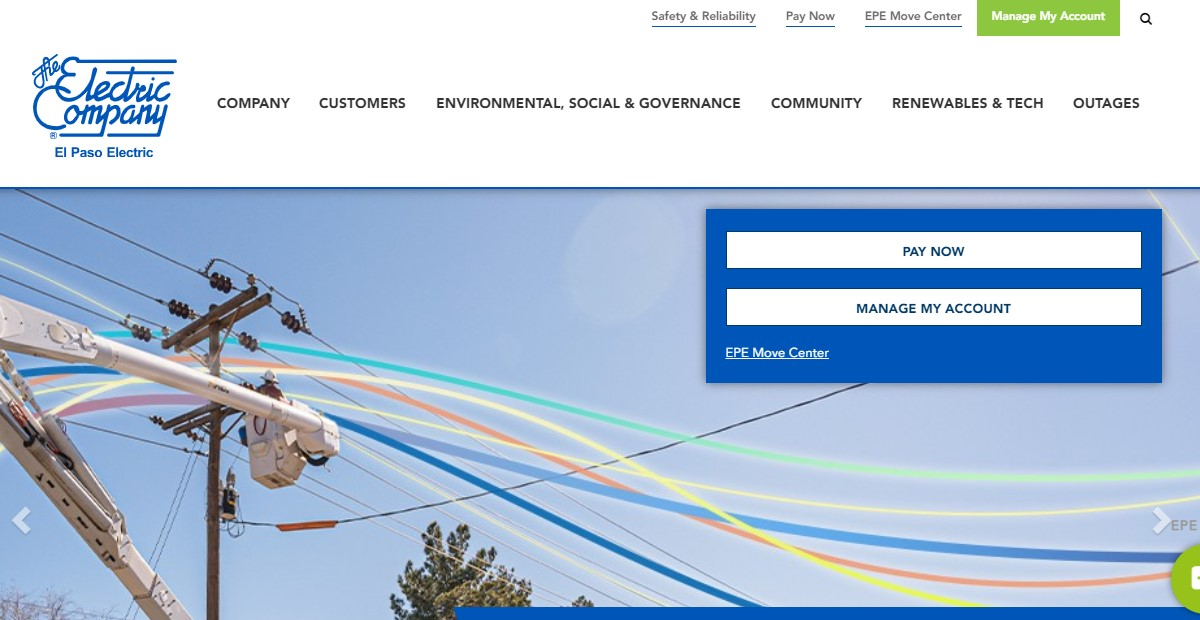 Pay Your El Paso Electric Utility Bill at www.epelectric.com Login Online