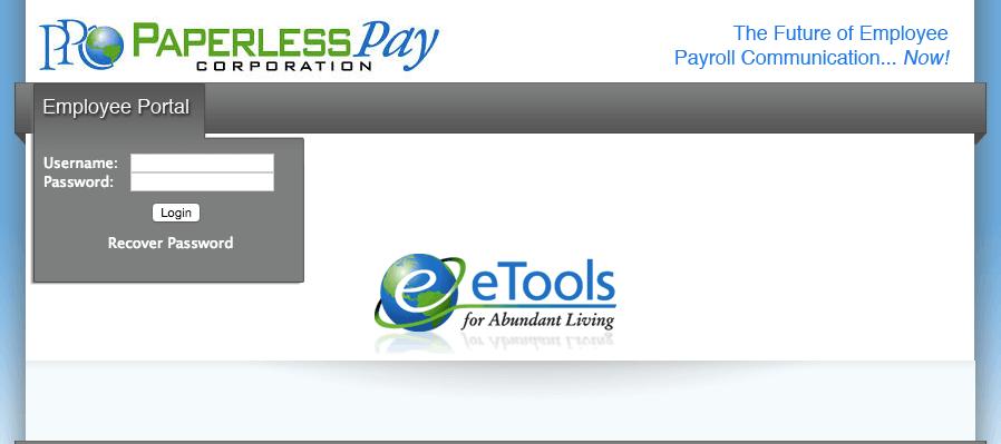 My-Estub Paperless Pay Login at www.my-estub.com Employee Portal