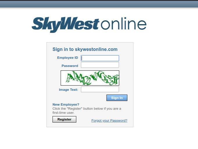 SkyWestOnline Login at www.skywestonline.com Airline Portal