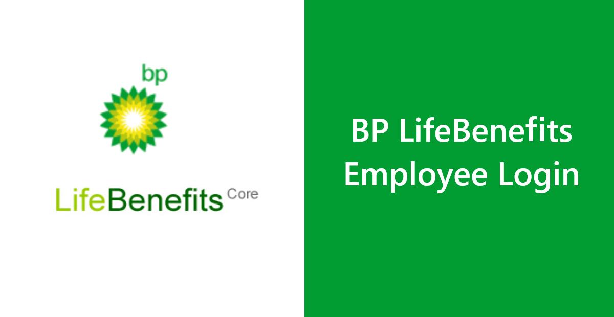 BP LifeBenefits Employee Account Login - Associate Sign In Portal
