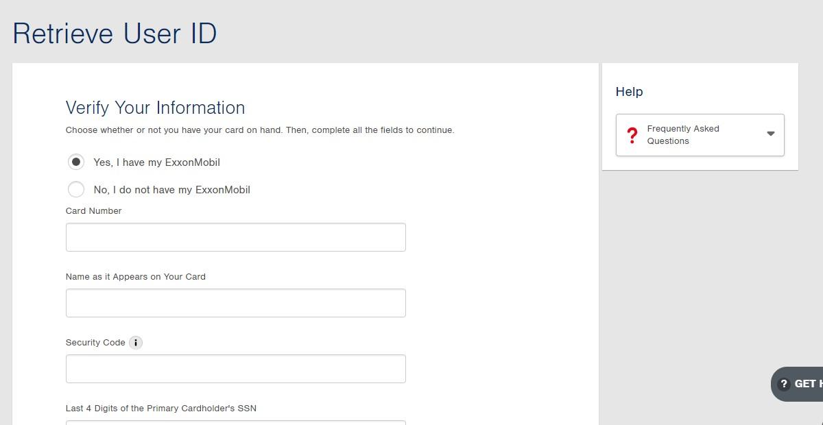 ExxonMobil Credit Card Online Account Login - Apply & Register
