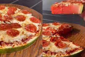 Watermelon Pizza Recipe's Video Gone Viral On TikTok