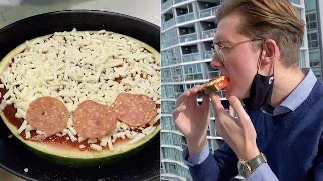 Watermelon Pizza Recipe Video Gone Viral On TikTok
